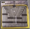 TL02343 HEX & TORX KEY WRENCH SET