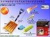 Telescopic Car Snow Shovel Flashlight Escape Hammer Ice Scraper Clean Tools group sets G801-SZ
