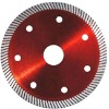 Thin tooth turbo saw blade