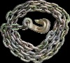 Tie Down Chain(with bent hook)