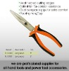 Two Color Handle Combination head-treated plier