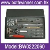 Watch repair tool kit with battery changing