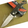 Yingren MY801Stainless Steel Combat Folding Blade Knife DZ-983