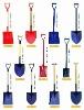 agricultural shovel and spade