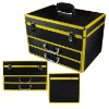 aluminum tool storage case with drawer