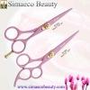 beauty hair scissors Pink colour