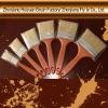 bristle paint brush no.0880