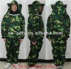 camouflage color bee protective separate suit