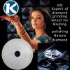 ceramic diamond wheel for polishing natural diamond