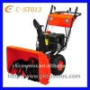 cheap gasoline snow remover/ snow sweeper 13hp