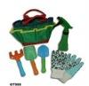 children garden tool bag kit