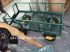 china folding green garden steel tool cart