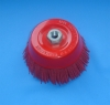 cup brush with crimped wire