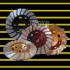diamond cup wheel:grinding wheel:turbo:105mm