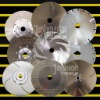 diamond cutting blade:Electroplated cutting blade:180mm