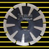 diamond saw blade:cutting saw blade:sintered blade:concave:115mm