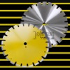 diamond tool:diamond laser saw blade:asphalt:400mm