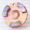 dry and wet low price and long life 68mm Diamond Concrete / Masonry Grinding Head for Jet Machine--COBT