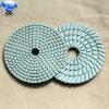 flexible diamond pad polishing for granit