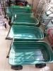 folding plastic garden tool cart TC2145