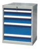 four drawers tool cabinet