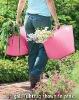 garden tools and equipment,flexible plastic shopping basket