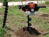 gasoline 49cc power ground driller hole digger earth auger
