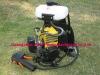 gasoline back pack grass cutter