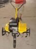 gasoline power 196cc rotary tiller/cultivator