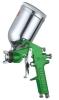 gravity feed spray gun W-71G green