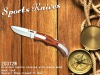 knife with wooden handle