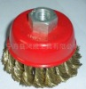 knot wire cup brush with nut