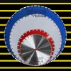 laser welded saw blade for green concrete: middle size