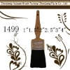 painting brush, no.1499