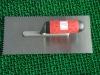 plastering trowel with handle stainless steel blade