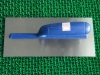 plastering trowel with plastic handle