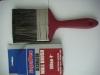 plastic handle and grey mix filament paint brush