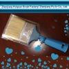 plastic paint brush no.0882