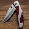 pocket knife with stainless steel handle