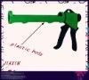 "professional 9""half-cylinder type plastic caulking gun,sealant applicator"