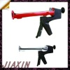 "professional 9"" plastic dual cartridge manual caulking gun,silicone sealant applicator caulking gun"
