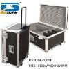 professional aluminum trolley travel flight case