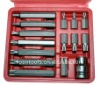 "professional tool set 15pcs 1/2""H-Bit Socket set FS2375-15"