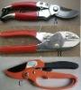 ratchet anvil bypass pruner,garden shears,pruning shear,secateurs