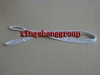 round webbing sling for one time use