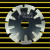 saw blade:diamond saw blade:sintered T segmented saw blade:115mm