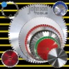 saw blade:laser saw blade for concrete