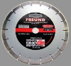 segmented turo diamond saw blades for cutting granite and marble