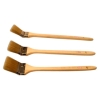 sharp taper filament and zelkova wooden handle angle brush