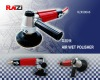 side exhaust wet air polisher